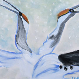 Meryl Goudey - Snow Swans