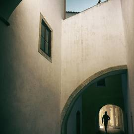 Carlos Caetano - White Building with Arches