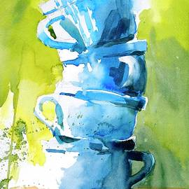 White Cups No 1 by Virgil Carter