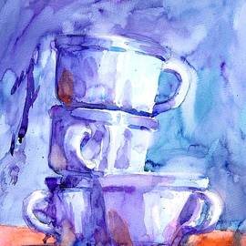 White Cups No 4 by Virgil Carter