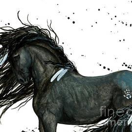 White Feather Horse - AmyLyn Bihrle