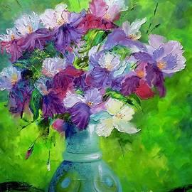 White Iris by Marina Wirtz