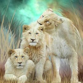 Carol Cavalaris - White Lion Family - Mothering