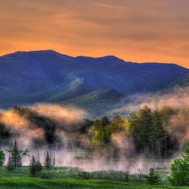 White Mountains Sunrise - New Hampshire by Joann Vitali