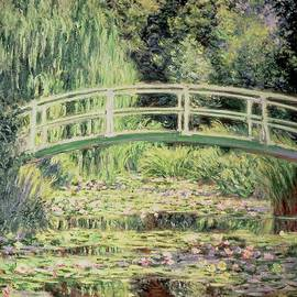 White Nenuphars by Claude Monet