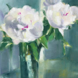 White Peonies - Beverly Brown