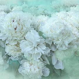 White Peonies by Lorraine Baum