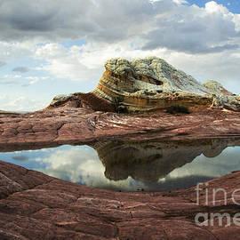 White Pocket Arizona Eye In The Sky by Bob Christopher