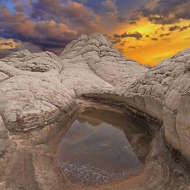 White Pocket Sunset by Ralf Rohner