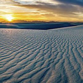 White Sands Sunset Panorama by Jamie Pham