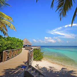 Jenny Rainbow - White Sandy Beach at Maldivian Island