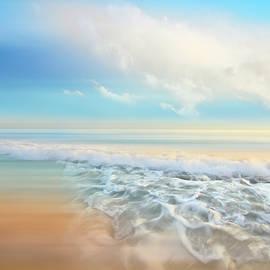 Debra and Dave Vanderlaan - White Seafoam Dreamscape Waves