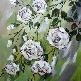 Cathy MONNIER - White tea Roses