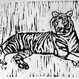 White Tiger by Lori Moon