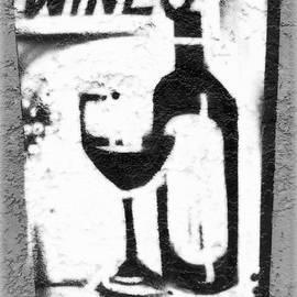 Barbie Corbett-Newmin - White wine sign