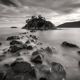 Pierre Leclerc Photography - Whytecliff Park Seascape BW