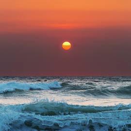 Maggie McCall - Widemouth Sunset, Cornwall