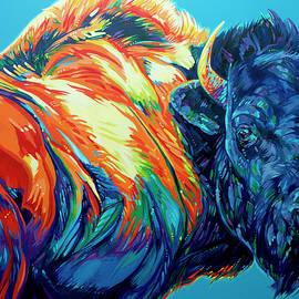 Wild Bison by Derrick Higgins
