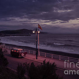 Wild Camping On Aberystwyth Promenade by Keith Morris