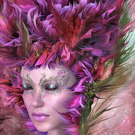 Wild Flower Goddess by Carol Cavalaris