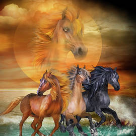 Wild Horses by Carol Cavalaris