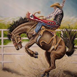 Wild Ride Bronc by Tish Wynne