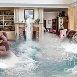 Wild Waves In Cornwall Interior Design by Terri Waters