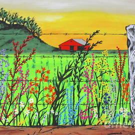 Jeffrey Koss - Wildflowers On The Farm