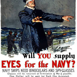War Is Hell Store - Will You Supply Eyes For The Navy