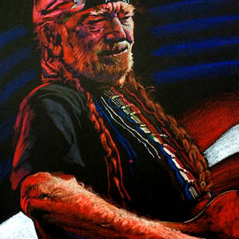 Willie Nelson by Robert Korhonen