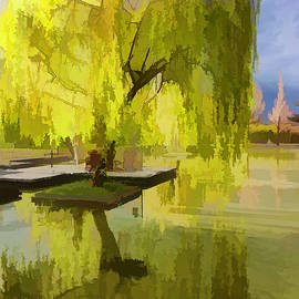 Linda Brody - Willow Tree In Liiang China I Painterly