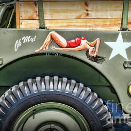 Willys Jeep Art by Paul Ward