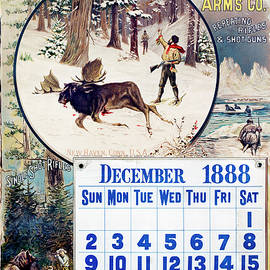 1888 Winchester Repeating Arms And Ammunition Calendar - Unknown
