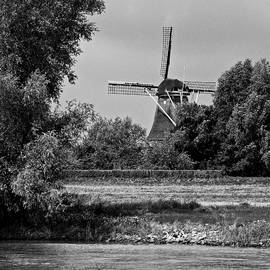Windmill from the Meuse by Eric Tressler