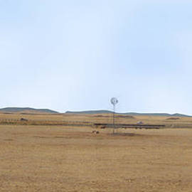 Windmill On The Colorado Range by Charles Robinson