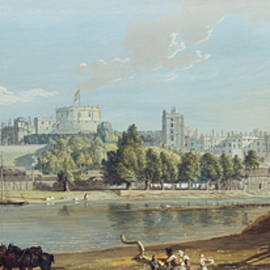 MotionAge Designs - Windsor Castle from the Eton Shore