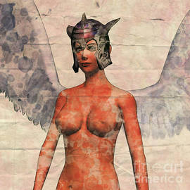 Winged Avenger Mark 2, Pop Art by Mary Bassett - Mary Bassett