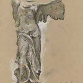 Juan Bosco - Winged Vicory of Samothrace