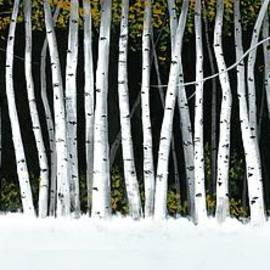 Michael Swanson - Winter Aspens II