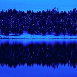 Winter at Lake Mary, Arizona by Dave Wilson