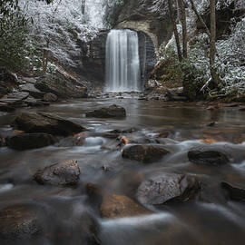 Keith Briley - Winter at Looking Glass Pisgah Forest Western North Carolina