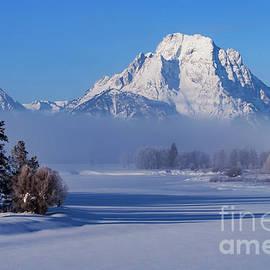 Bob Phillips - Winter at Mt. Moran