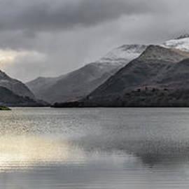 Adrian Evans - Winter at Padarn Lake Snowdonia