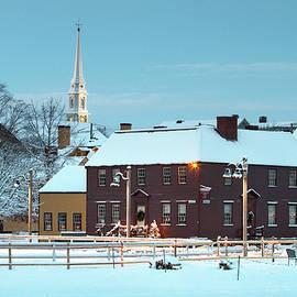 Eric Gendron - Winter at Strawbery Banke Portsmouth