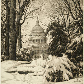 Winter at the Capitol - Ronau William Woiceske