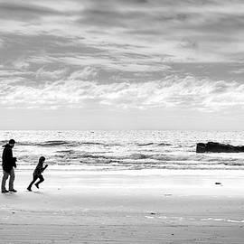 Alan Brown - Winter Beach Walk