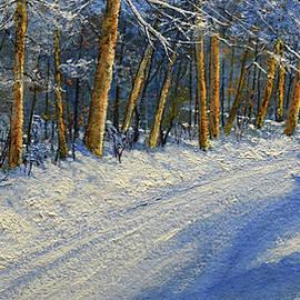 Frank Wilson - Winter Birch Road