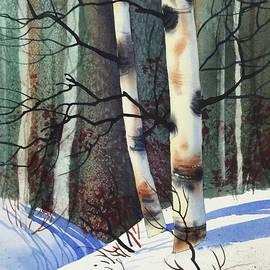 Teresa Ascone - Winter Birch