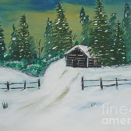 Jimmy Clark - Winter Cabin