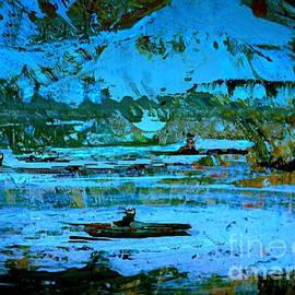 Nancy Kane Chapman - Winter Canoes